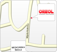 Mapa Oreol